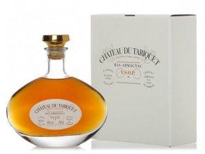 Krásný dárek Armagnac Chateau du Tariquet CARAFE VSOP CLASSIQUE 40%