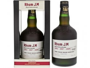 Rhum jm multimillesime 2002