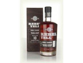 rebel yell 10year old single barrel whiskey