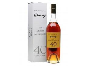 40 let starý Armagnac Darroze 40Y