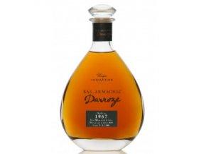 carafe bas armagnac darroze 1967
