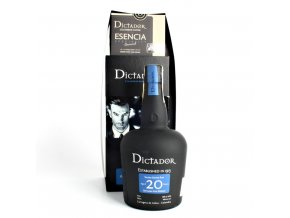 Dictador 20y + Esencia coffee 250g 20y 0,7l 40% GB