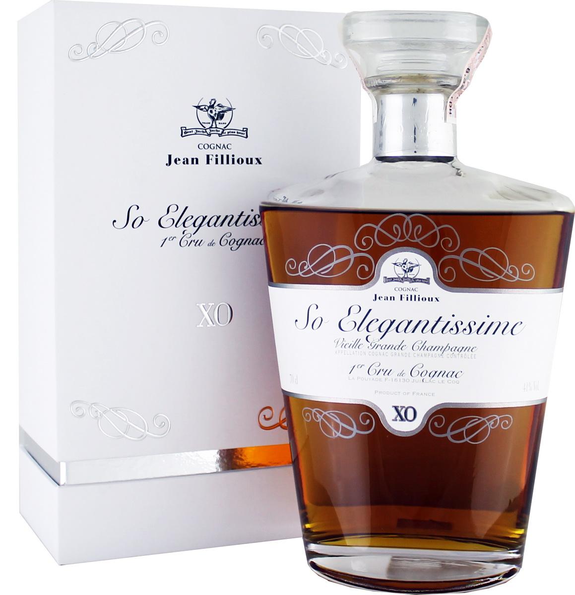 "Jean Fillioux XO ""So Elegantissime"" 41% 0,7l"