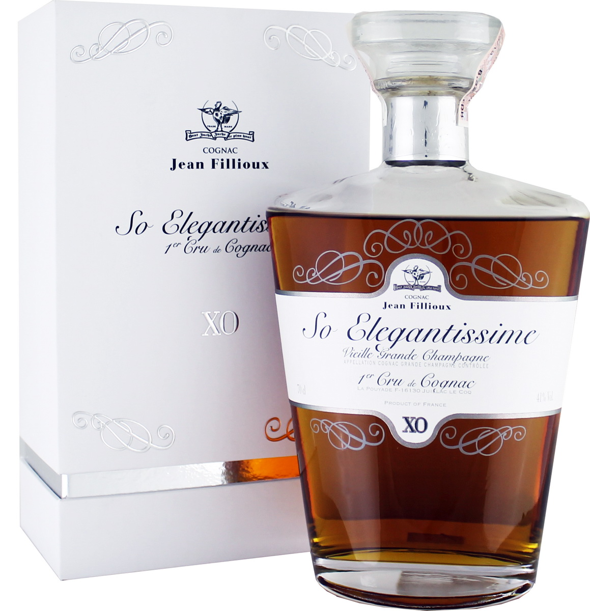"Jean Fillioux XO ""So Elegantissime"" 41% 0,7l"