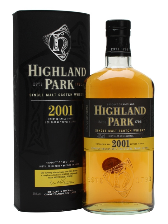 Highland Park 2001 40% 1l
