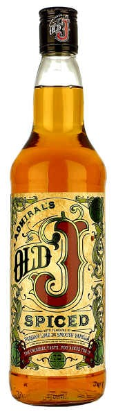 Old J spiced 0,7 l 35%