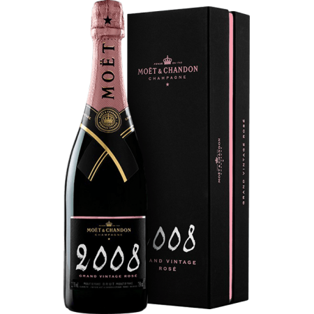 Moët & Chandon 2008 Grand Vintage Rosé Brut GB 075 12,5%