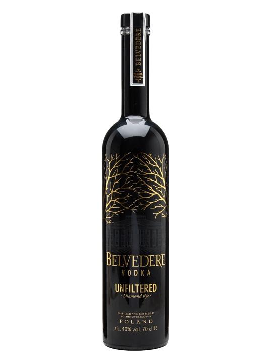 Belvedere vodka unfiltered 40% 070