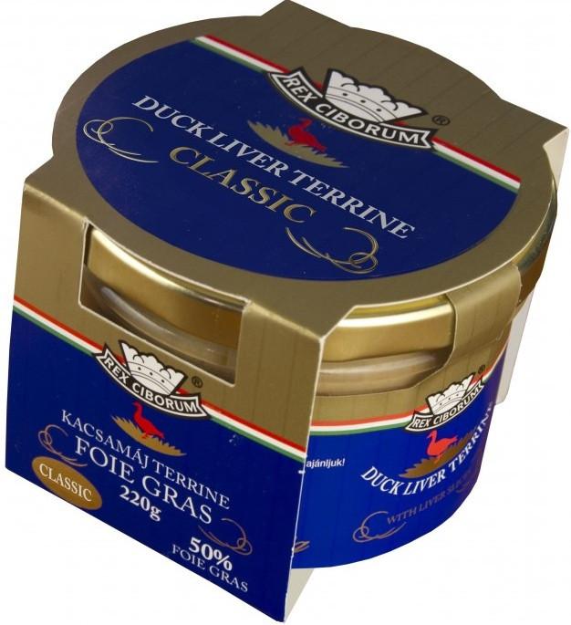 Kachní terrina s 50% Foie Gras Classic RC 220g