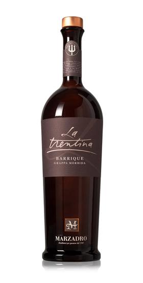 Grappa Marzadro La Trentina - Morbida Barrique 41% 0,7l