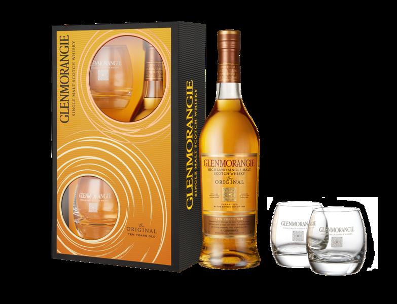 Glenmorangie 10Y 40% 0.7l + 2 skleničky