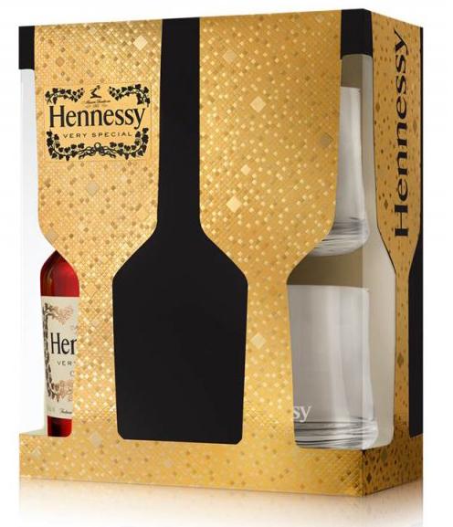 HENNESSY VS Very Special 40% 0,7 l + + 2 skleničky