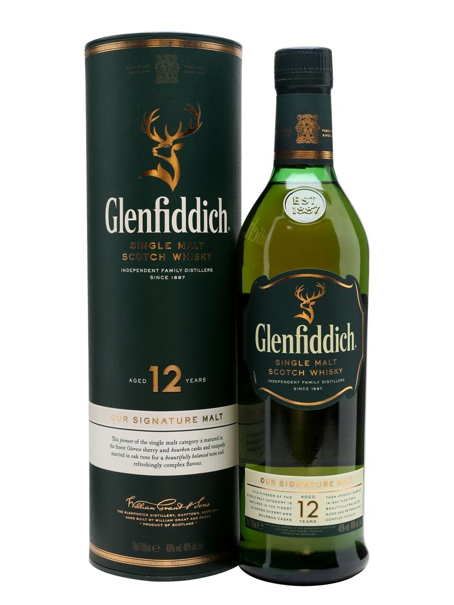 Glenfiddich 12Y 40% 0,7l