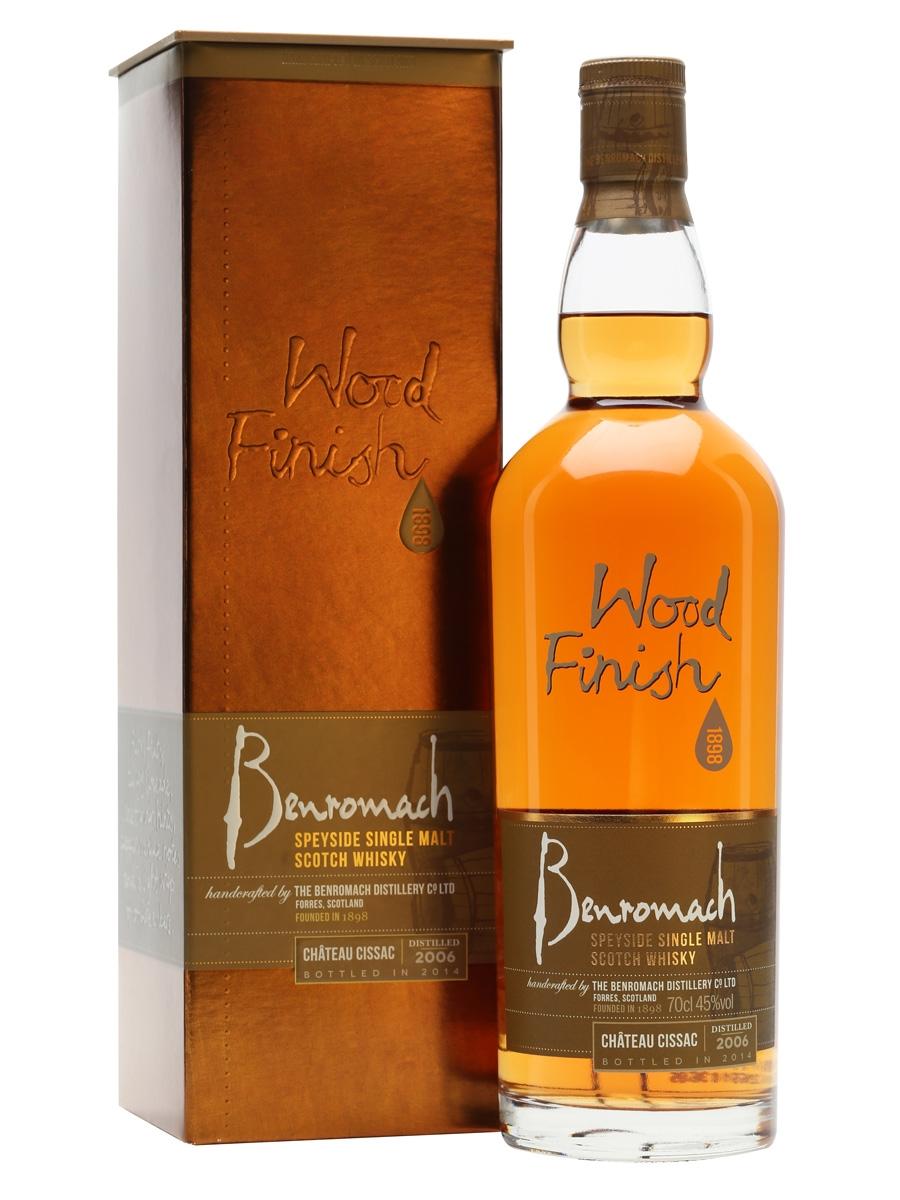 Benromach 2006 wood finish Château Cissac 45% 0,7 l