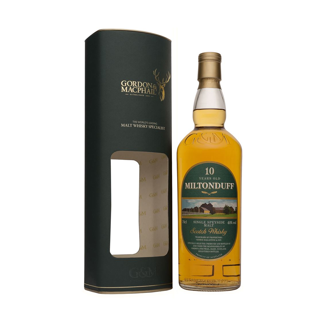 "Miltonduff 10Y "" Distillery Labels"" 40% GM 0,7l"