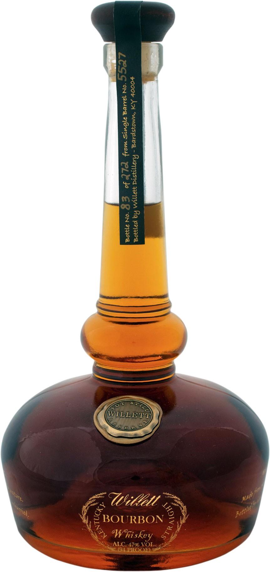 WILLETT Reserve Bourbon Whiskey Pot Still 47% 0,7 l