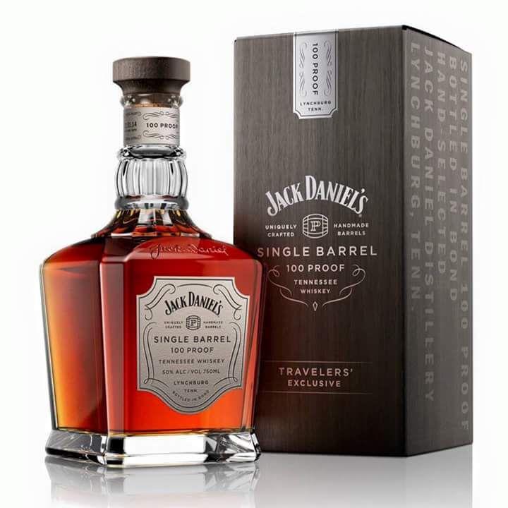 Jack Daniels Single Barrel 100 Proof Travelers' Exclusive 50% 0,7l