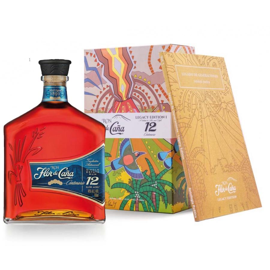"""Flor de Caña Centenario 12y """"Legacy Edition I"""" 0,7l 40%"""