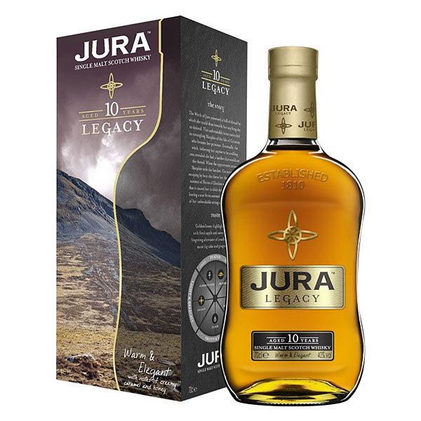 Isle of Jura Legacy 10y 40% 0,7 l