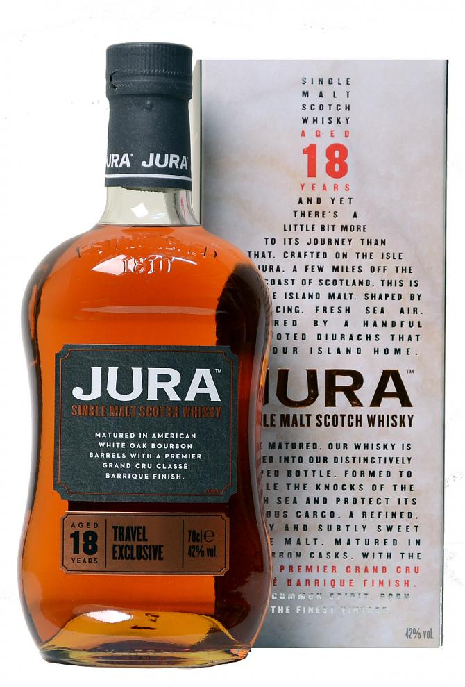 "Isle of Jura 18Y ""Travel Exclusive"" 42% 0,7 l"