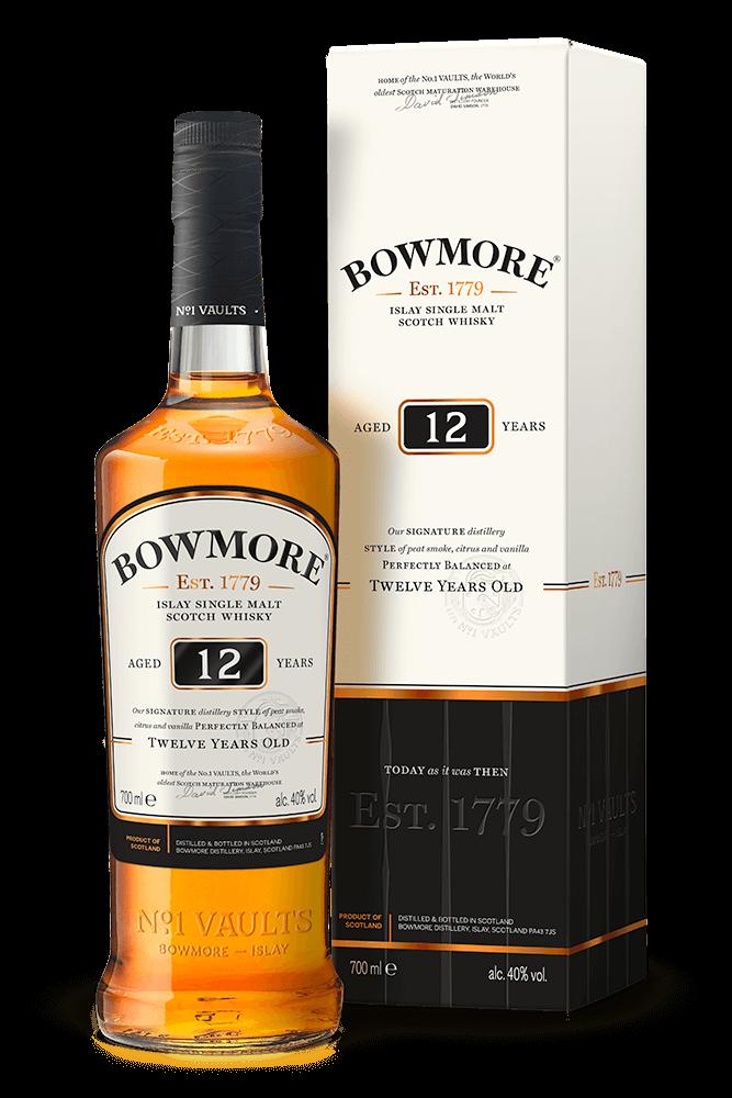 Bowmore 12Y 40% 0,7 l