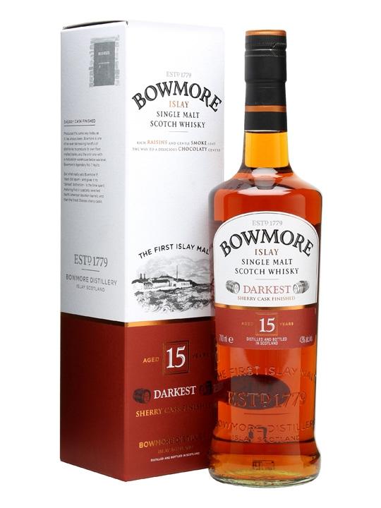 Bowmore 15Y Darkest Sherry Cask 43% 0,7 l