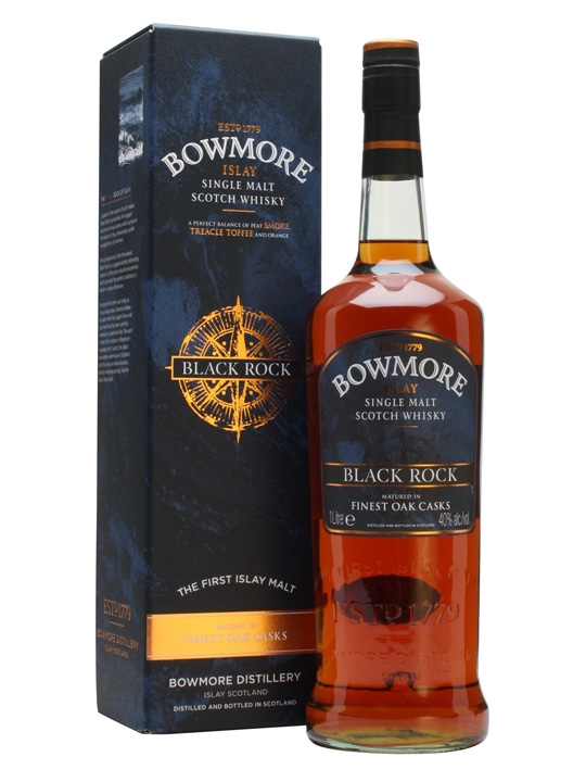 Bowmore Black Rock 40% 1l