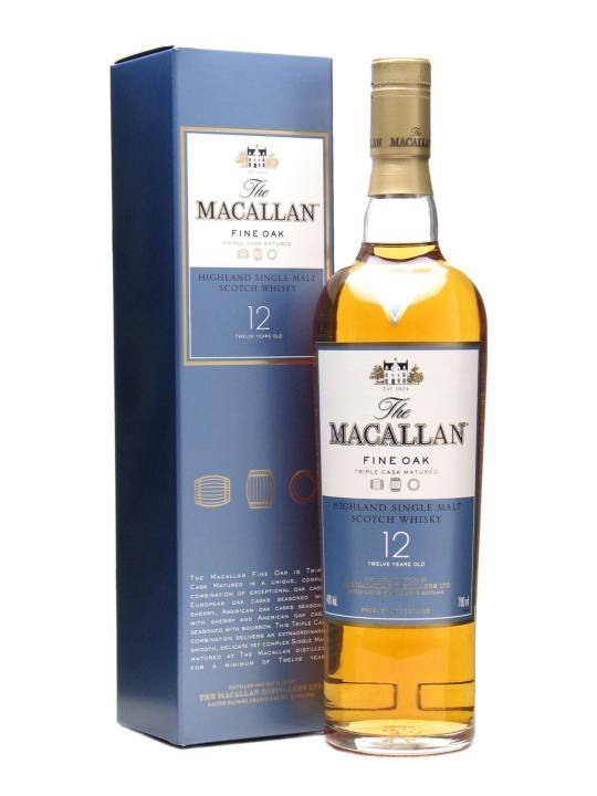 Macallan Fine Oak 12y 40% 0,7l