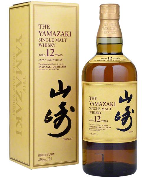 Yamazaki Whisky 12y 43% 0,7l