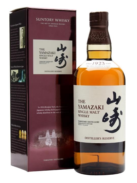 """Yamazaki Single Malt """"Distiller's Reserve"""" 43% 0,7l"""