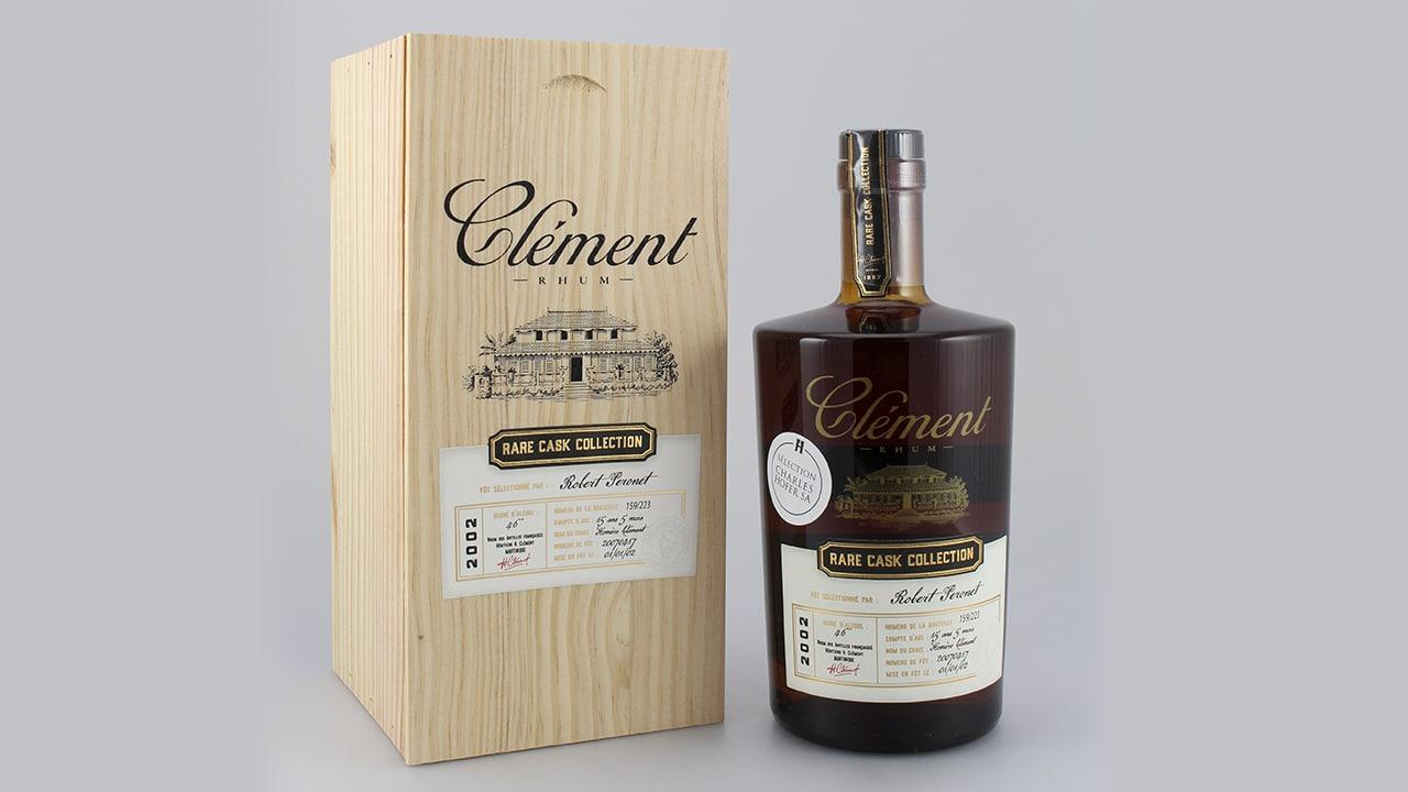 Clément 16y Rare Cask Collection Robert Peronet 2000 55,3% 0,5l