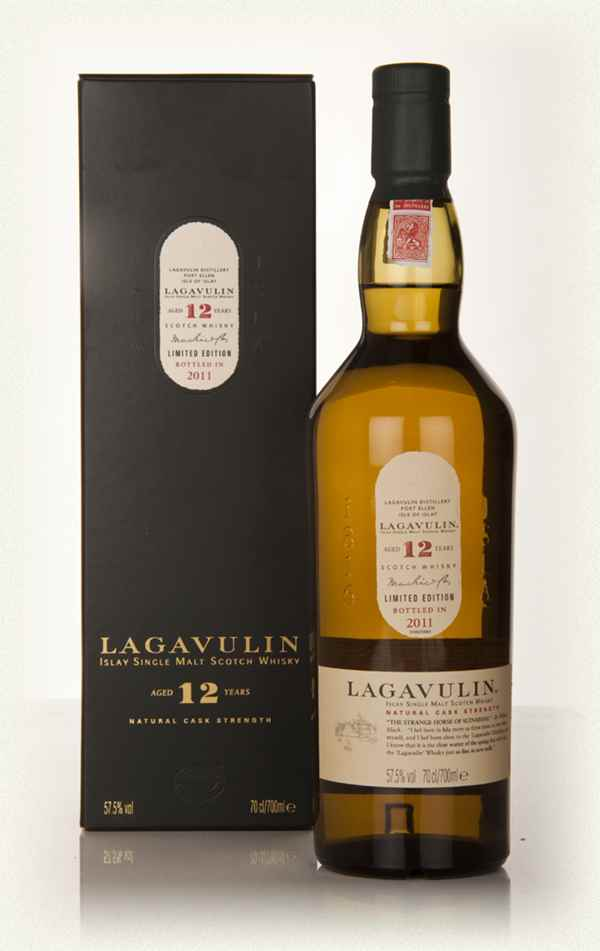 Lagavulin 12Y 57,5% 0.7l Cask Strength Limited Edition bottled in 2011