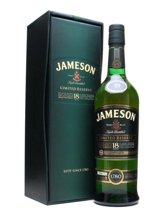 Jameson 18Y Limited Reserve 40% 0,7l