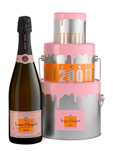 Veuve Clicquot Rose cake box 0,75l