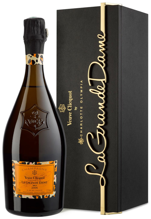 Veuve Clicquot La Grande Dame 2006 - CHARLOTTE OLYMPIA 0,75l 12,5%