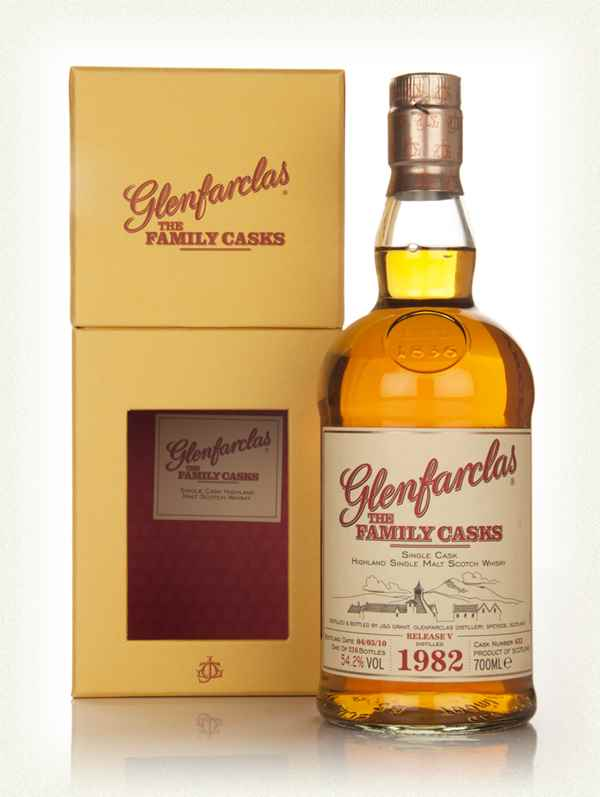 Glenfarclas 1982 The Family Cask (Release V) 54,2% 070