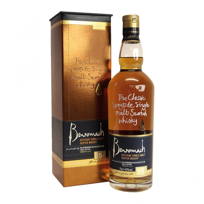 Benromach 15y 0,7l 43%