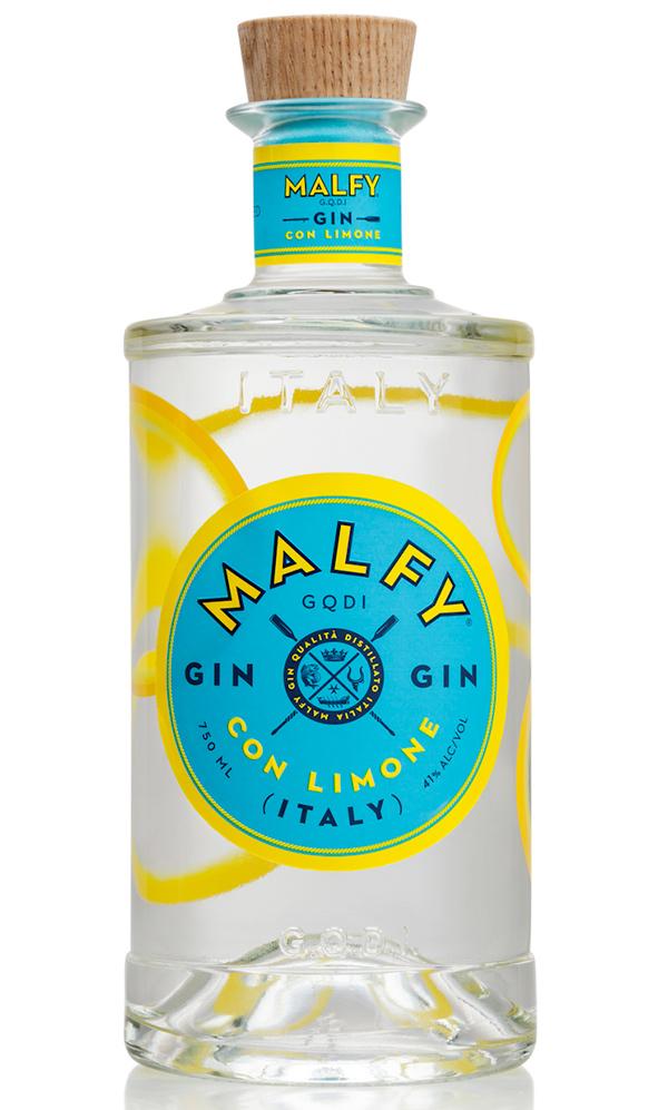 Malfy gin Lemon 41% 070 typ: Malfy gin 0,7 L