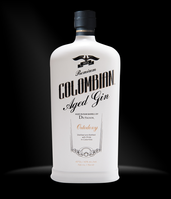 Dictador Colombian aged gin 0,7 l typ: Dictador Colombian Aged Gin white - Ortodoxy