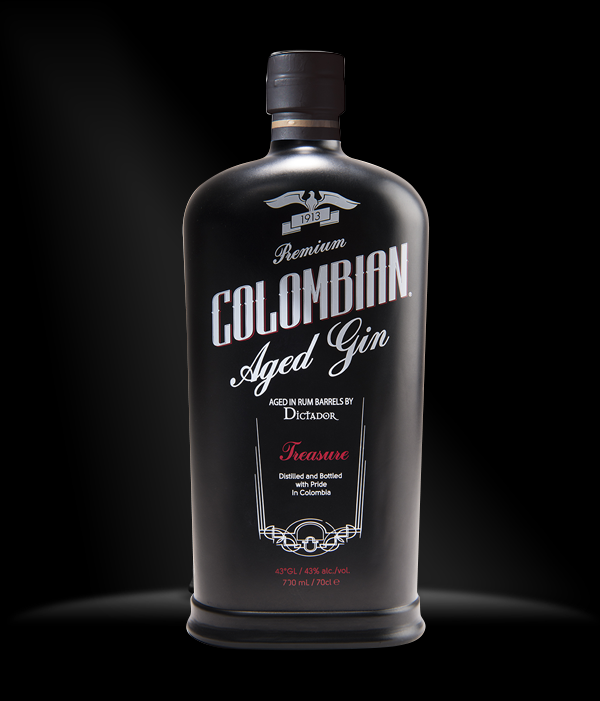 Dictador Colombian aged gin 0,7 l typ: Dictador Colombian Aged Gin Black - Treasure