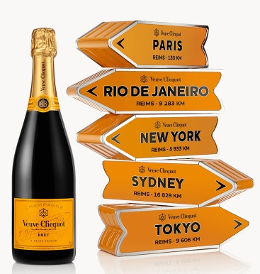 Veuve Clicquot Arrow Brut 0,75l GB typ: Hawaii