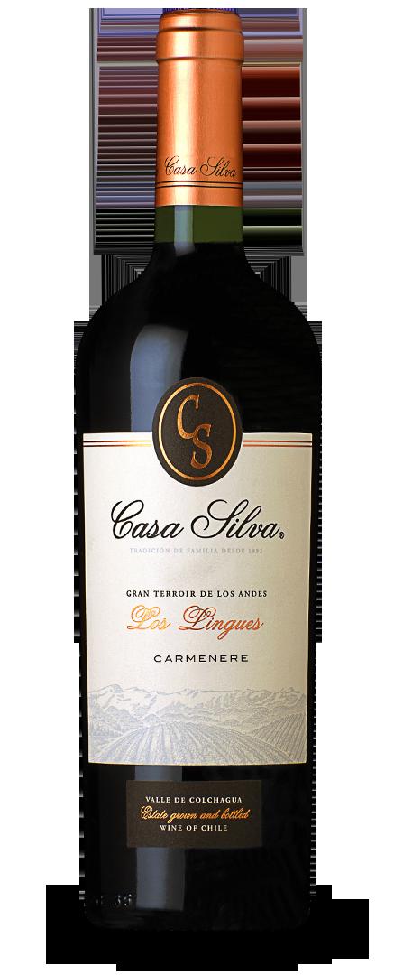 Casa Silva Carmenere Gran Terrior 2015 075 14,5%