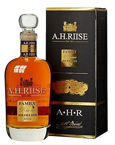 A.H. Riise Family Reserve Solera 1838 Rum 0,7l