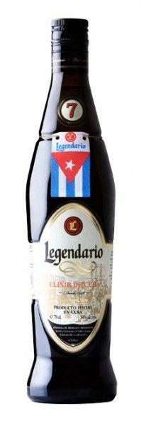 Legendario 7Y Elixir de Cuba 0,7 l 34%