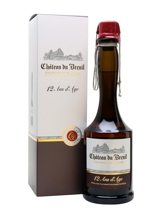 Calvados Chateau du Breuil 12Y 0,7l 41%