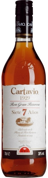 Cartavio 1929 Gran Reserva 7Y 0,7l