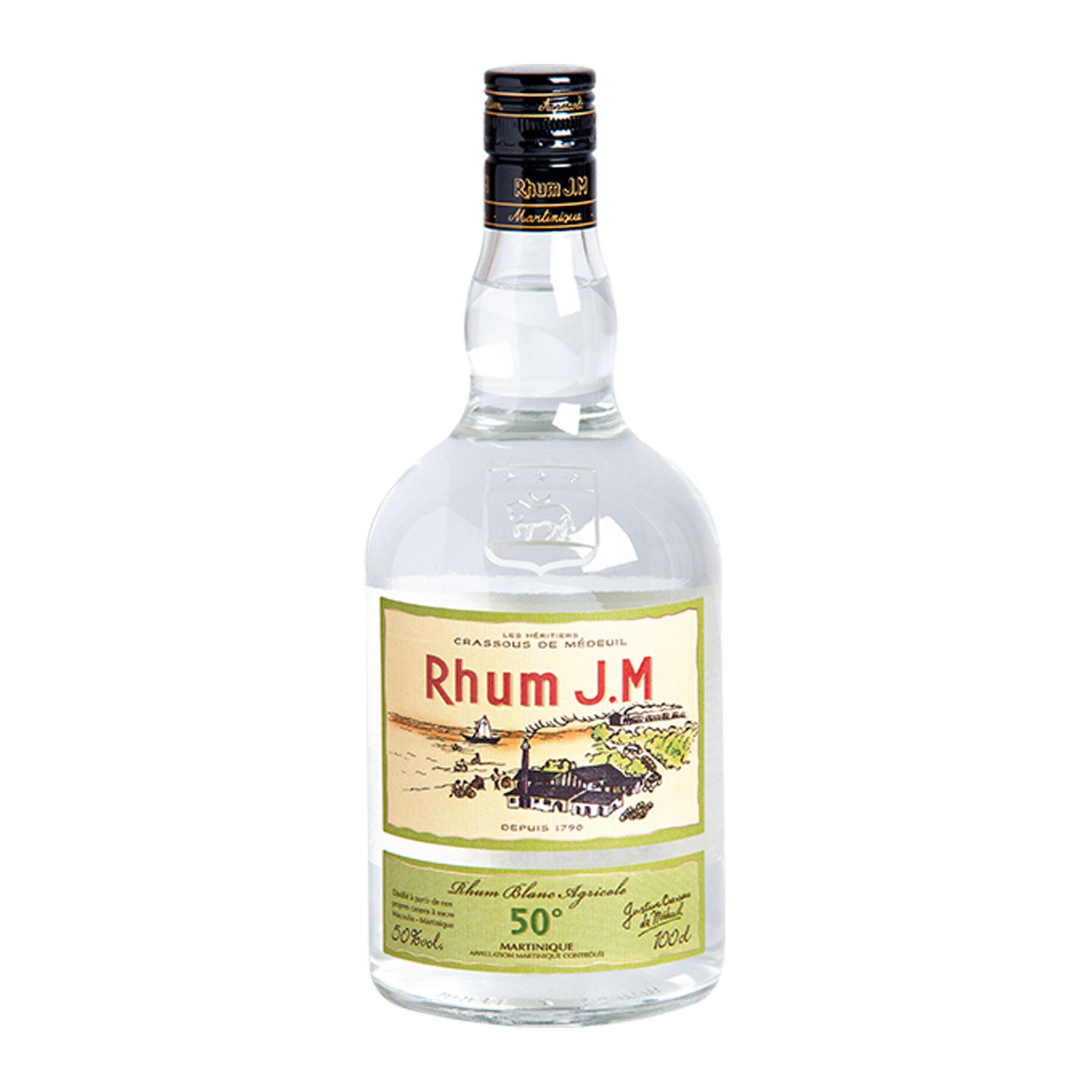 J.M Rhum Blanc 50% 1 l