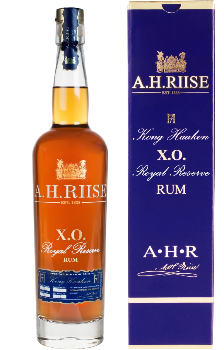 A.H. Riise X.O. Royal Reserve Rum KING HAAKON 0,7l