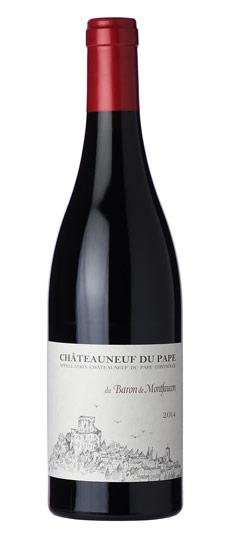 Châteauneuf-du-Pape Baron de Montfaucon 2014 0,75l