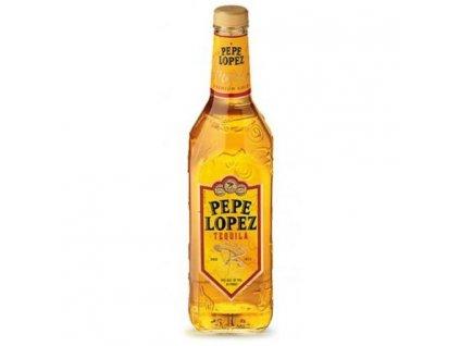 Pepe Lopez Tequila gold 0,7